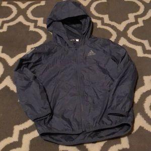 Adidas rain  jacket size 4t EUC